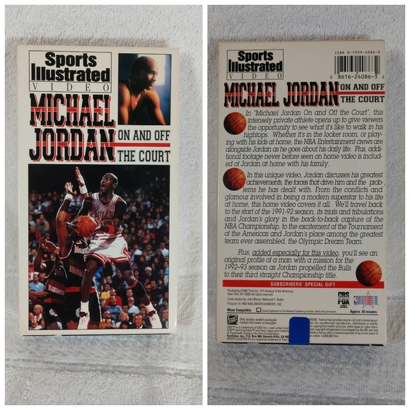 Vintage Sports Illustrated Michael Jordan VHS
